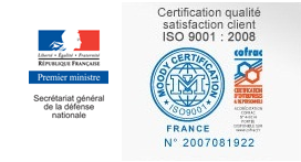 logos Secrétariat Défense Nationale et ISO 9001